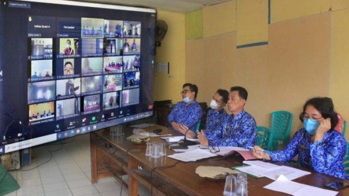 Pemkab Lampung Selatan Sosialisasi Pilkades Serentak Secara Virtual
