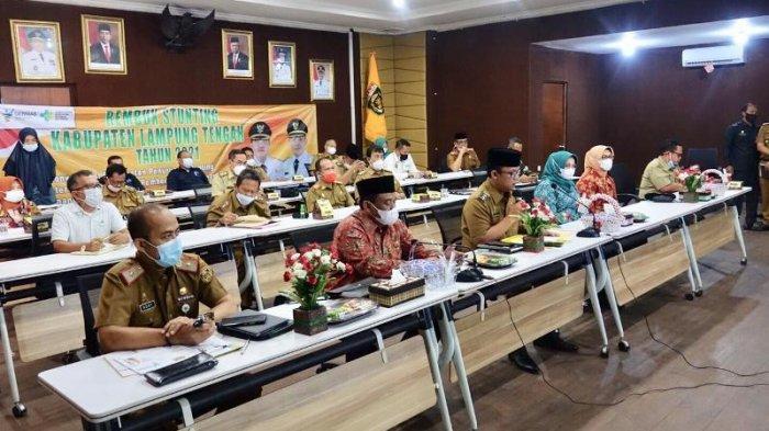 Pemkab Lampung Tengah Targetkan Tahun 2023 Zero Kasus Stunting