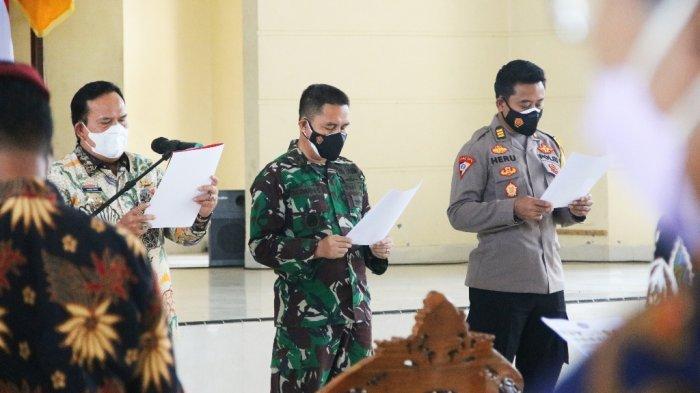 Poin Deklarasi Peduli Pencegahan Covid-19 di Lampung Timur, Prokes adalah Harga Mati