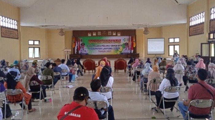 Permudah Usaha Masyarakat, Pemkab Lampung Timur Gelar Penyuluhan Keamanan Pangan untuk UMKM