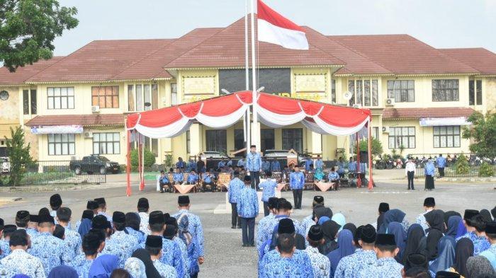 Pemkab Lampung Timur Gelar Upacara HUT Korpri ke 48