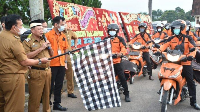 Gandeng PT Pos, Pemkab Lampung Timur Kirim e-KTP ke Rumah Warga