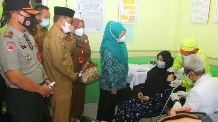 Pemkab Lampung Utara Mulai Vaksinasi Ibu Hamil