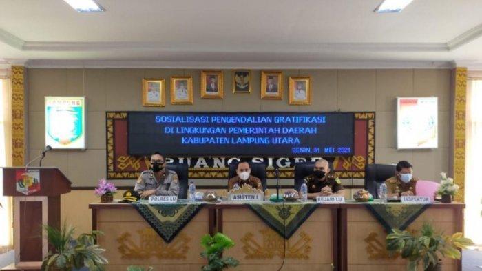 Pemkab Lampung Utara Sosialisasi Pengendalian Gratifikasi