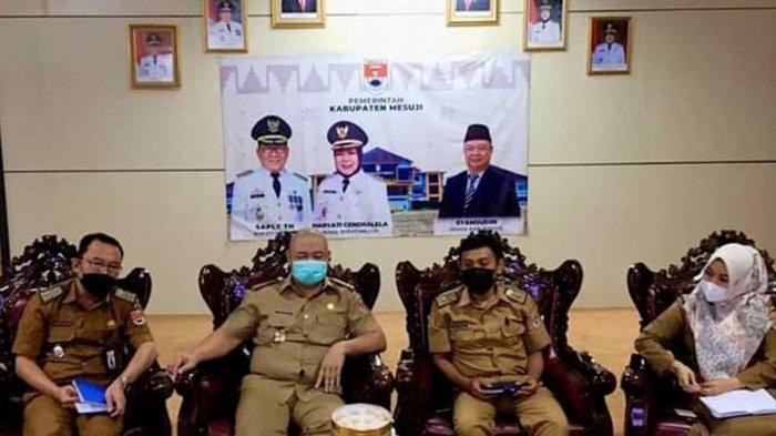 Pemkab Mesuji Lampung Hadiri Rapat Daring dengan OJK, Harap Dapat Selalu Bersinergi