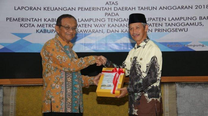 Empat Kali Berturut-Turut Pemkab Pringsewu Sabet Opini WTP