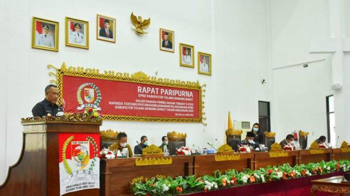 Pemkab Tubaba dan DPRD Sepakati Sahkan Raperda LKPj APBD 2020