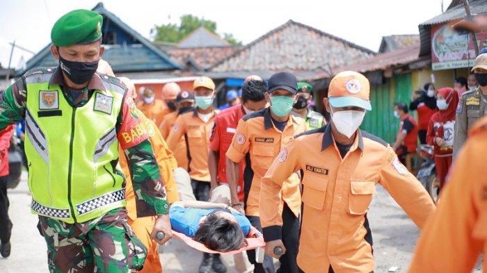 Pemkab Tulangbawang Simulasi Penanganan Banjir di Bantaran Sungai Tulangbawang