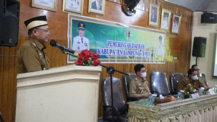 Pemprov Gelar Rakor Pembinaan dan Pengawasan Tahunan Inspektorat di Lampung Timur