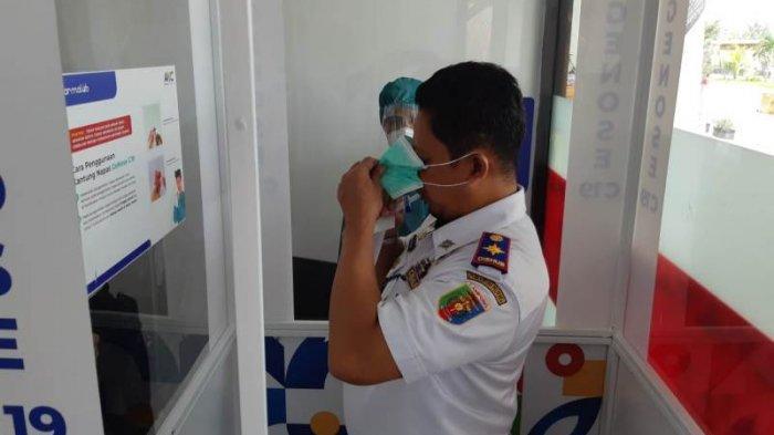 Pemprov Lampung Apresiasi Pelaksanaan GeNose di Branti, Secepatnya di Pelabuhan Bakauheni