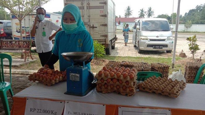 Pemprov Lampung Gelar Pasar Murah di Pringsewu, Selisih Harga Sampai Rp 2 Ribu