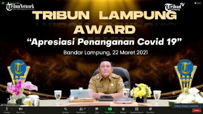 Pemprov Lampung Sabet Indonesia's Best Pandemic Handling