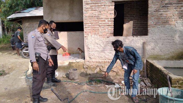 Pemuda 20 Tahun Asal Pesawaran Tewas Tersengat Listrik saat Perbaiki Lampu di Kolam