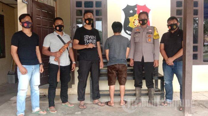 Pemuda 32 Tahun di Lagi Nongkrong di Tugu Kena Ciduk Polisi karena Bawa Kunci