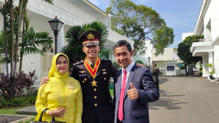 Pemuda Lampung Lulusan Terbaik Akpol 2021Bercita-cita Jadi Kapolri