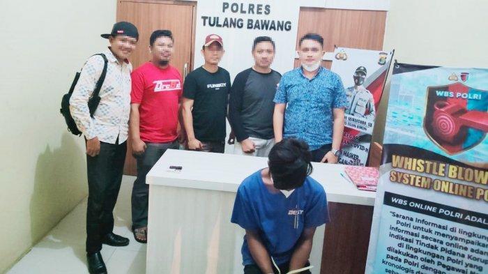 Rudapaksa Siswi di Gubuk, Pemuda asal Tulangbawang Lampung Diringkus Polisi