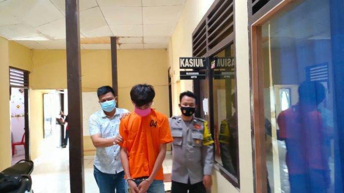 Penadah Motor Curian Milik Warga Pringsewu Jadi Tahanan Polsek Pugung