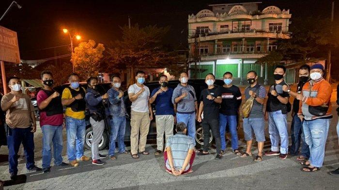 9 Tahun Curi Batang Karet, Pria Lampung Tengah Dibekuk Polres Lampung Utara