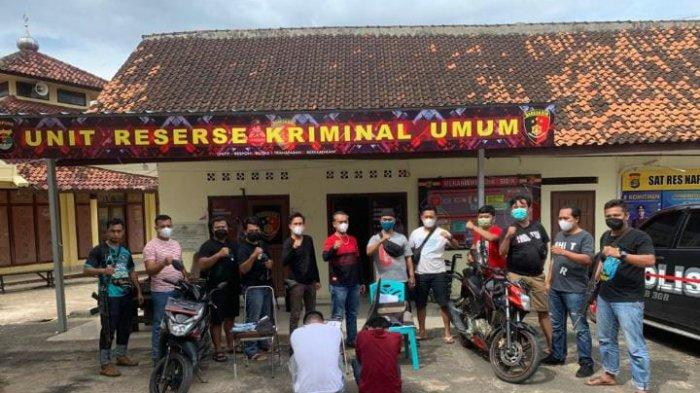 Curi Controller Monitor Ekskavator Seharga Rp 140 Juta, 2 Warga Lampung Tengah Ditangkap