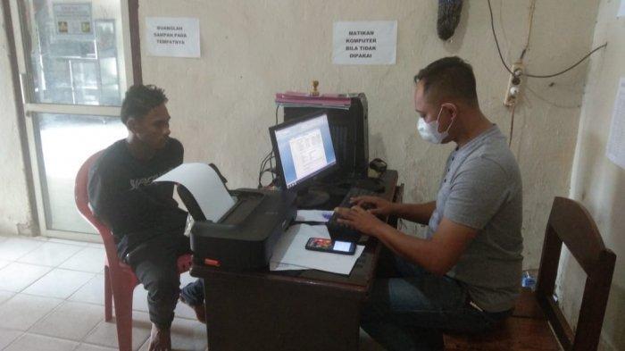 Dipancing Lewat Medsos, Pencuri HP asal Bandar Lampung Diringkus di Lampung Timur