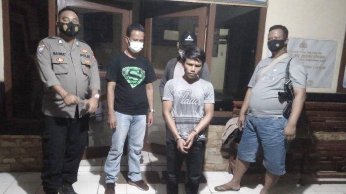 Gasak Motor dan HP Pegawai Koperasi di Tulangbawang Lampung, Bajil Diringkus Polsek Dente Teladas