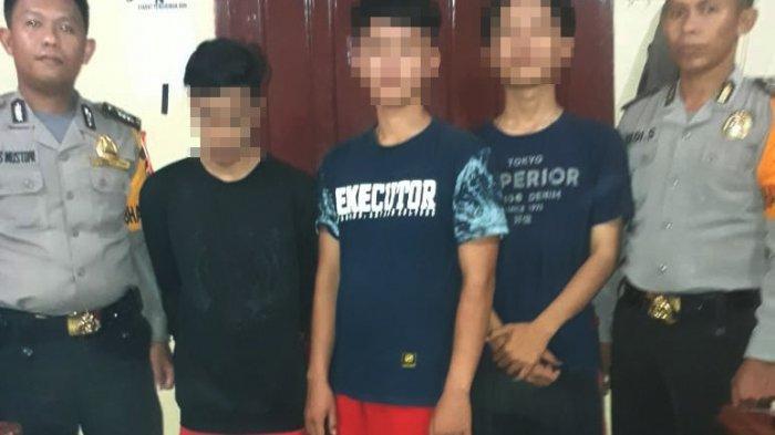 3 Pelajar Ditangkap karena Mencuri Tabung Gas di Rumah Dinas Bupati Tulangbawang Barat