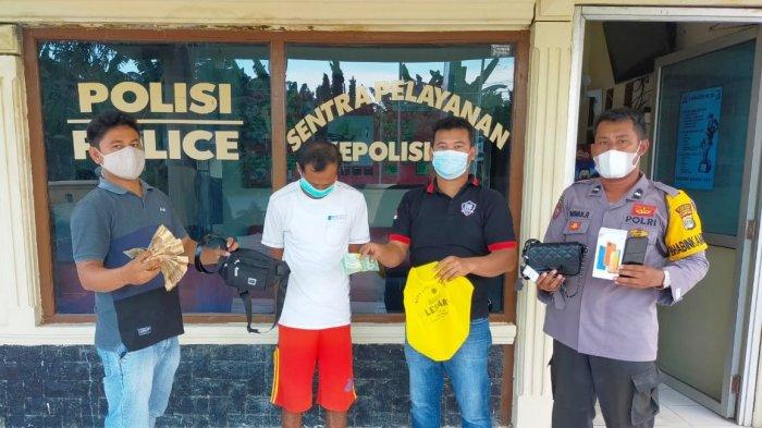 Pencuri Uang Rp 200 Juta di Pasar Unit 2 Tulangbawang Dibekuk Polisi