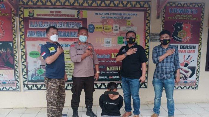 Polsek Abung Selatan Lampung Utara Amankan Seorang Pelaku Pencurian di Kandang Ayam Potong