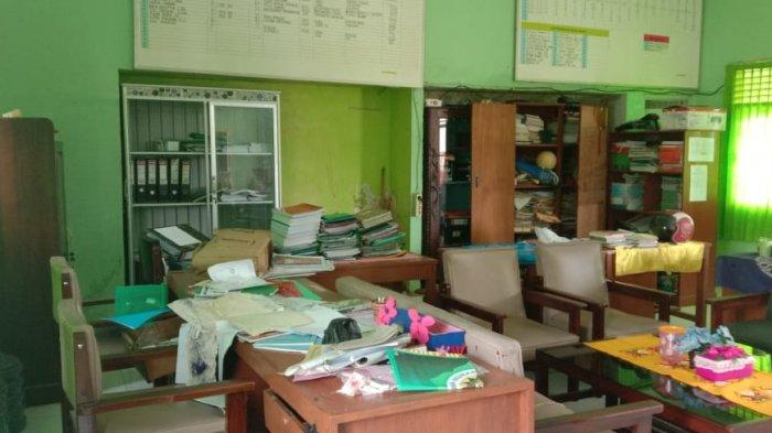 Satroni SMA Muhammadiyah Kotabumi, Pencuri Gasak Komputer hingga Kotak Amal