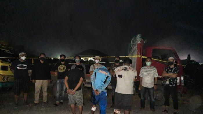 BREAKING NEWS 3 Pencuri Truk di Pesawaran Lampung Ditangkap Polisi