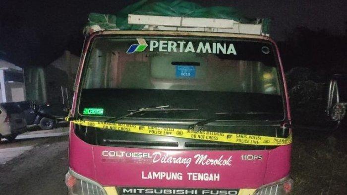 Truk Curian Diamankan di Pringsewu Lampung