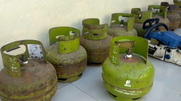 Gasak 10 Tabung Gas, Pemuda Pengangguran Diciduk Polresta Bandar Lampung
