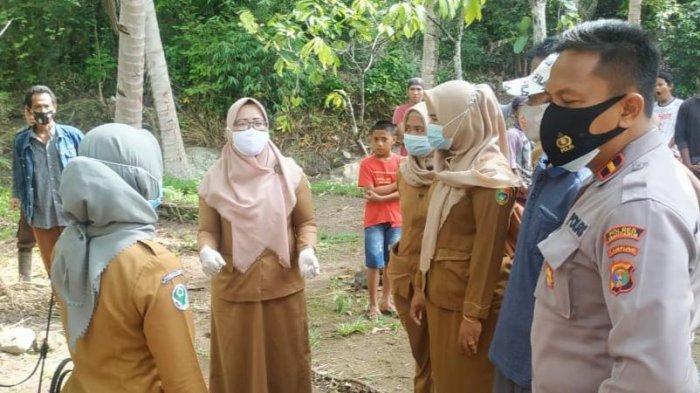 Geger Penemuan Mayat Bayi Perempuan di Sungai Bulok Tanggamus, Diduga Berumur 2 Hari