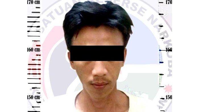 Pengedar Narkoba di Way Kanan Diciduk Polisi di Rumahnya, Ditemukan BB Sabu Seberat 4,85 Gram