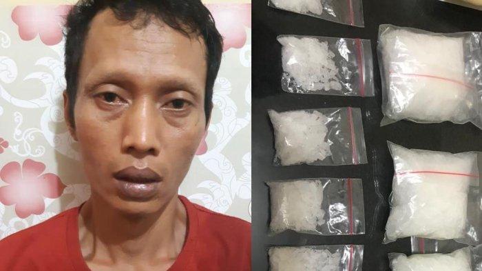Sedang Termenung di Kamar, Pengedar Narkoba Dibekuk Polda Lampung