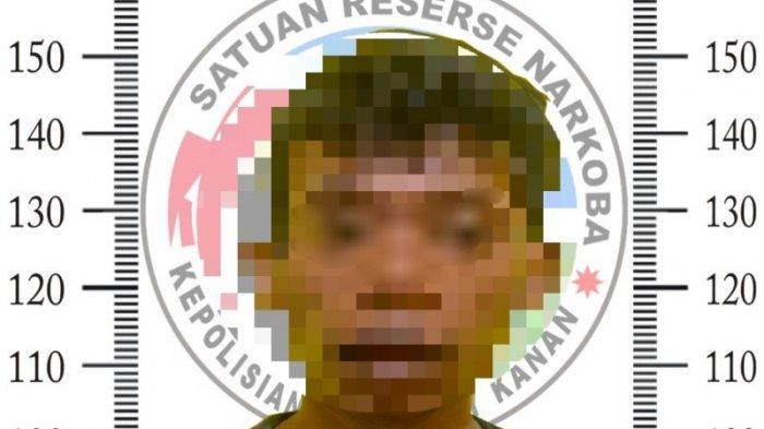 Pengedar Sabu di Way Kanan Diringkus, Pelaku Sempat Buang Bungkusan saat Diberhentikan Polisi