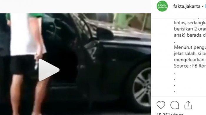 Saksi Ungkap Aksi Koboi Pengemudi BMW Umbar Pistol ke Warga: Tadi Ada polisi dari Resmob