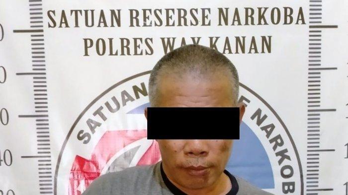 Polisi Amankan Pria 50 Tahun yang Jadi Pengedar Narkoba
