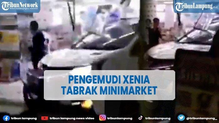 Kecelakaan di Pekanbaru, Mobil Xenia Tabrak Minimarket