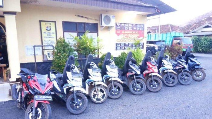 Gerebek Gudang di Sekampung Udik, Polisi Temukan 9 Motor Curian asal Bandar Lampung
