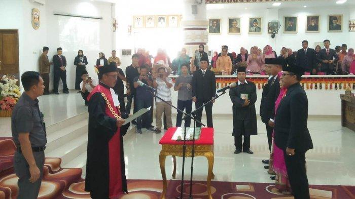 Sah, Wiyadi Ketua DPRD Bandar Lampung Definitif Periode 2019-2024