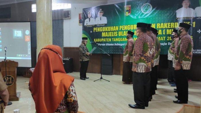 KH Ahmad Wahid Zamas Jabat Ketua MUI Tanggamus Periode 2020-2025