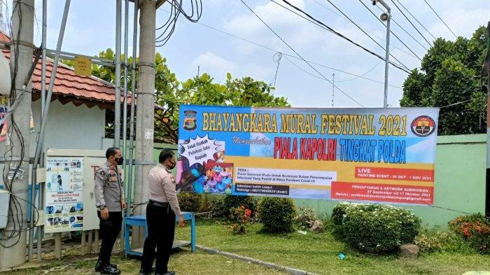 Polda Lampung Gelar Lomba Bhayangkara Mural Festival 2021 Piala Kapolri, Berhadiah Puluhan Juta