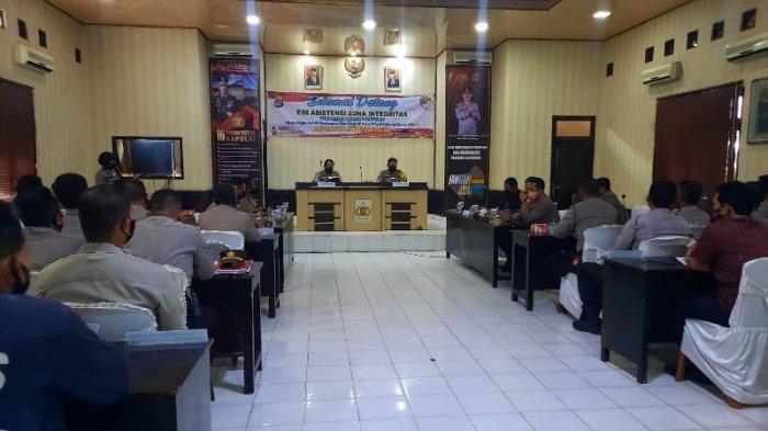 Penilaian Zona Integritas, Tim Asistensi ZI Birorena Polda Kunjungi Polres Lampung Utara