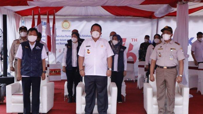 Presiden Melepas Merdeka Ekspor Komoditas Pertanian pada 17 Lokasi, Lampung Salah satunya