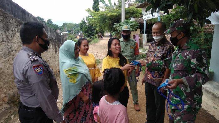 Koramil 410-01/Panjang Imbau Prokes Hingga ke Pemukiman Warga