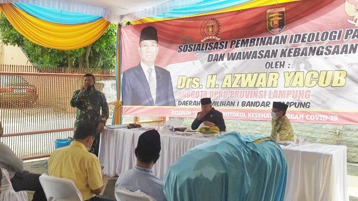Mayor Inf Anang Nugroho Beri Pelatihan Ideologi Pancasila dan Wawasan Kebangsaan