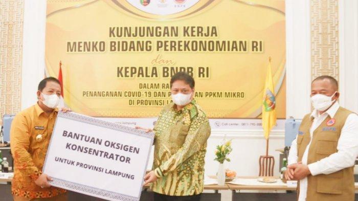 Atasi Kelangkaan Tabung Oksigen, Lampung Sudah Punya 496 Oksigen Konsentrator
