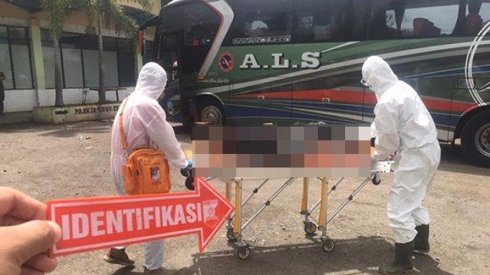Penumpang Tewas Dalam Bus ALS saat Singgah di Tegineneng Pesawaran, Ditemukan Bercak Darah di Lantai