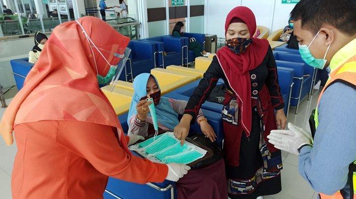 Penumpang Meningkat, Bandara Radin Inten II Lampung Perketat Protokol Kesehatan